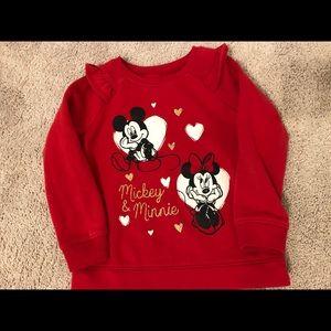 Fleece sweatshirt size 5t